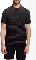 Perry Ellis Graphic Knit Short Sleeve Polo