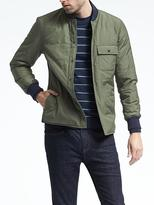 Banana Republic Reversible Shirt Jacket