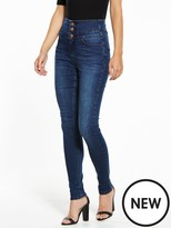 Very Tall Macy High Waisted Skinny Jean