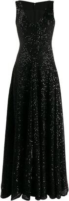 Talbot Runhof Tottori dress