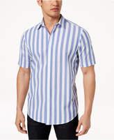 Club Room Men's Seersucker Striped Shirt, Created for Macy's