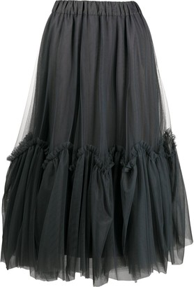 P.A.R.O.S.H. Tiered Tulle Dress