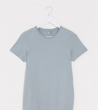 Asos Tall ASOS DESIGN Tall ultimate organic cotton crew neck t-shirt in teal