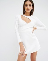 KENDALL + KYLIE Cut Out Knit Dress