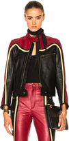 Chloé Leather & Nubuck Biker Jacket