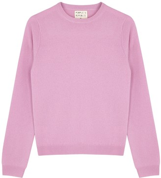 Peoples Republic of Cashmere People's Republic Of Cashmere Pink Cashmere Jumper