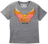 Chaser Aerosmith '78 Wings Logo Tee (Big Boys)