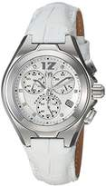 Technomarine Women's 'Manta' Quartz Stainless Steel and Leather Casual Watch