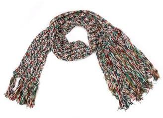 Missoni Knit Tassel Scarf