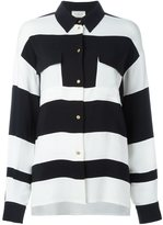 Lanvin striped shirt - women - Spandex/Elastane/Viscose - 36