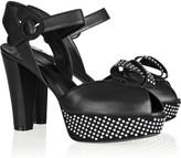 Sonia Rykiel Deloris embellished leather sandals