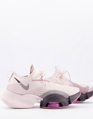 Nike Training SuperRep Air Zoom trainers in pink