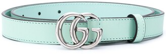 Gucci Double G buckle thin belt