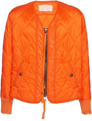 Greg Lauren Quilted Nylon Flight Jacket