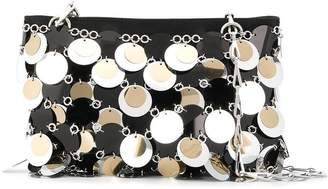 Paco Rabanne mirrored discs shoulder bag