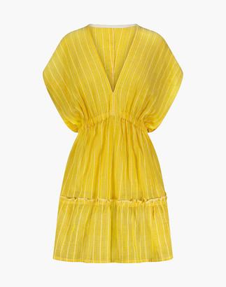 Madewell lemlem Wubet Short Plunge-Neck Dress