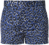 Barbara Bui leopard print shorts - women - Cotton - 36