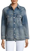 Mavi Jeans Embroidered Back Denim Jacket