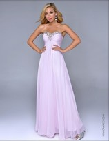 Nina Canacci - 4051 Dress in Baby Pink