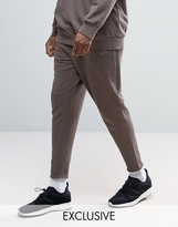 Puma Cropped Joggers In Brown Exclusive To Asos 57530802