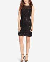 American Living Sequined Sheath Dress
