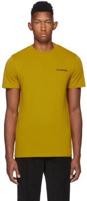Han Kjobenhavn Yellow Casual T-Shirt