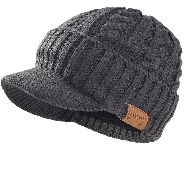 eb8dc496037253 Cable Grey Hat Mens - ShopStyle Canada