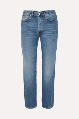 Totême Mid-rise Straight-leg Jeans - Mid denim