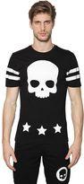 Hydrogen Skull & 17 Printed Cotton Jersey T-Shirt