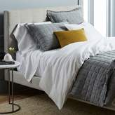 west elm Belgian Flax Linen Bedding Set