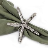 Star Home Starfish 4-pc. Brass Napkin Ring Set