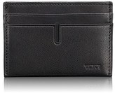 Tumi Men's 'Chambers' Leather Money Clip Card Case - Black