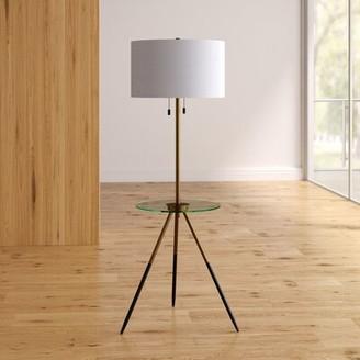 "Wade Logan Tionesta 61"" Tray Table Floor Lamp"