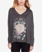 Jessica Simpson Juniors' Open Minds Graphic T-Shirt