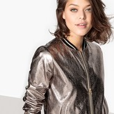 Suncoo Metallic Bomber Jacket