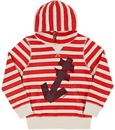 Scotch Shrunk STRIPED COTTON HOODIE