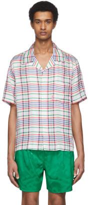 Rochambeau White Plaid Shirt