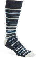 Nordstrom Men's 'Cushion Foot' Stripe Socks