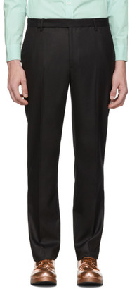 Eckhaus Latta Black Gloss Narrow Trousers