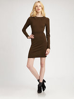 Yigal Azrouel Cut 25 by Merino Long-Sleeve Dress
