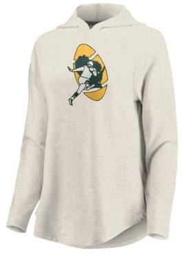 Majestic Women's Green Bay Packers French Terry Pullover