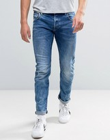 G Star G-Star Arc 3d Slim Jeans Medium Aged Wash