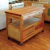 Catskill Craft Grand Americana Kitchen Cart