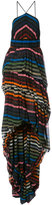 Sonia Rykiel striped dress - women - Silk - 36