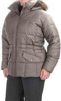Columbia Lone Creek Hooded Jacket - Insulated (For Plus Size Women)