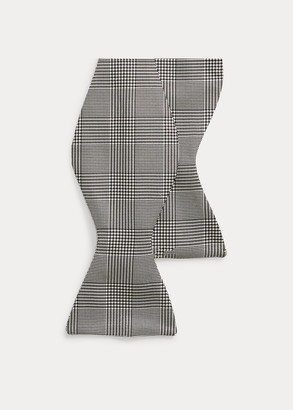 Ralph Lauren Glen Plaid Silk Bow Tie