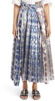 Toga Women's Foil Print Lame Skirt
