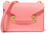 Sophie Hulme Milner Nano Leather Shoulder Bag - Bright pink