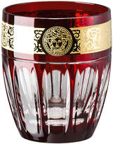 Versace Gala Prestige Whisky Tumbler - Red