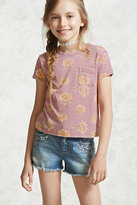 Forever 21 FOREVER 21+ Girls Sunflower Tee (Kids)